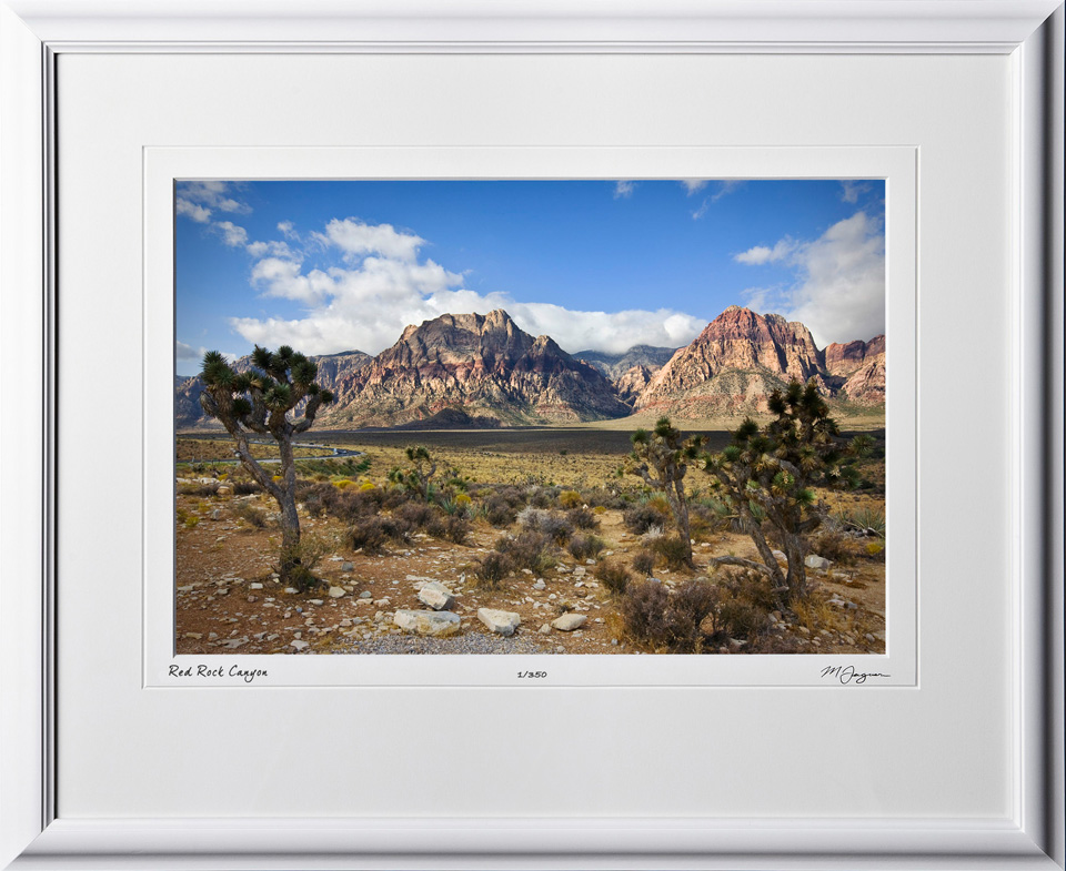 S081004A Red Rock Canyon Nevada - shown as 12x18