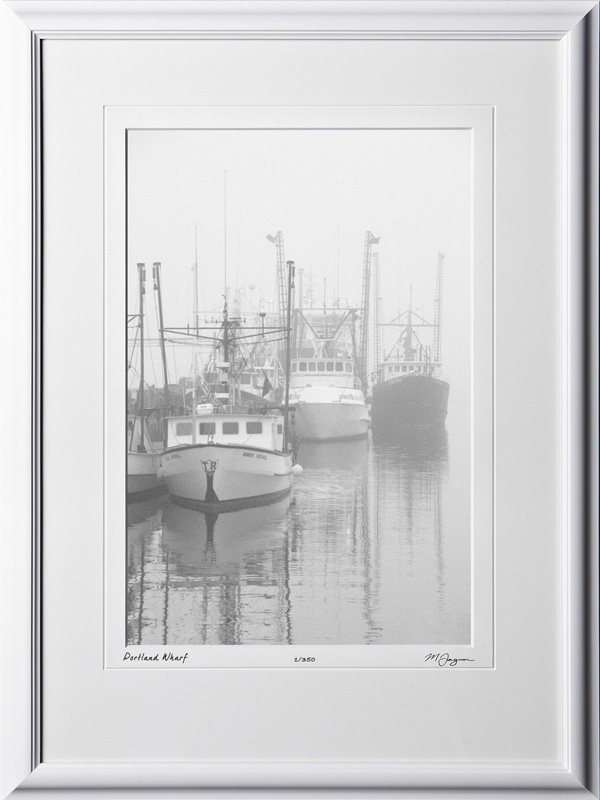 S080824G Portland Wharf - Maine - shown as 12x18