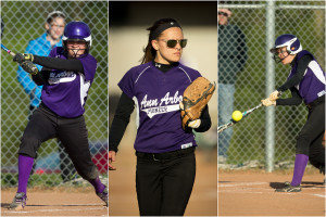 Pioneer Softball VS Huron Ann Arbor Portfolio Featured Image