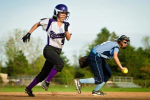 Pioneer Varsity Softball VS Skyline Ann Arbor Sports Photography