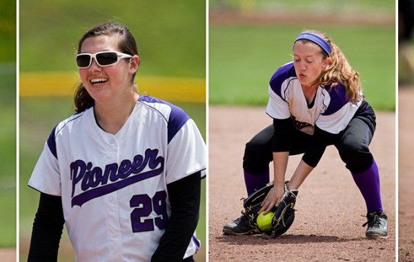 Pioneer Softball VS Fraser and Howell, 5/16-17/14, Ann Arbor