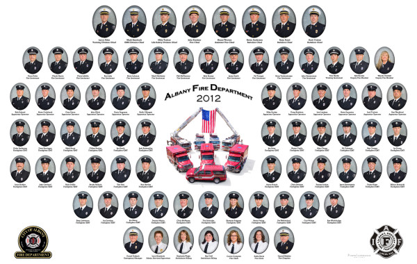 Albany Fire Department Fraternity Composite