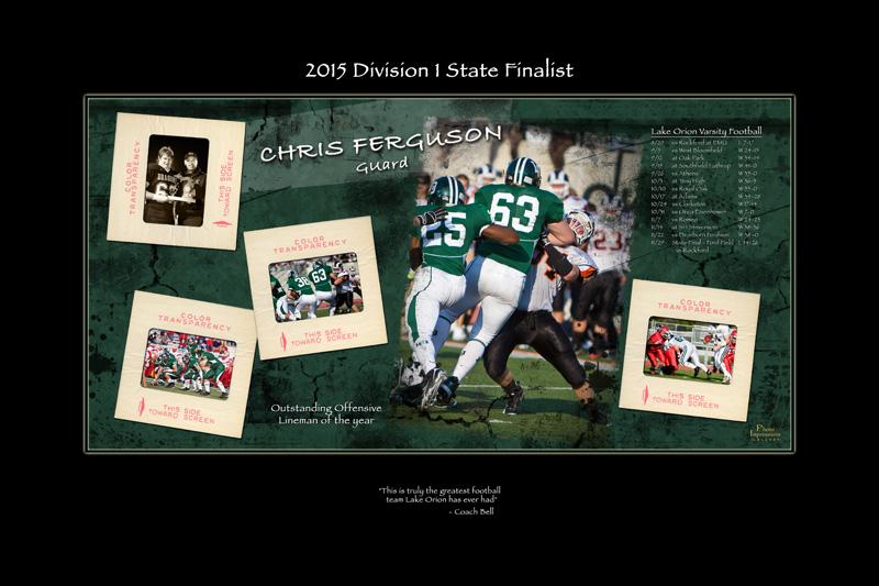 Sport Poster team poster Ann Arbor Plymouth MI portrait studio 340