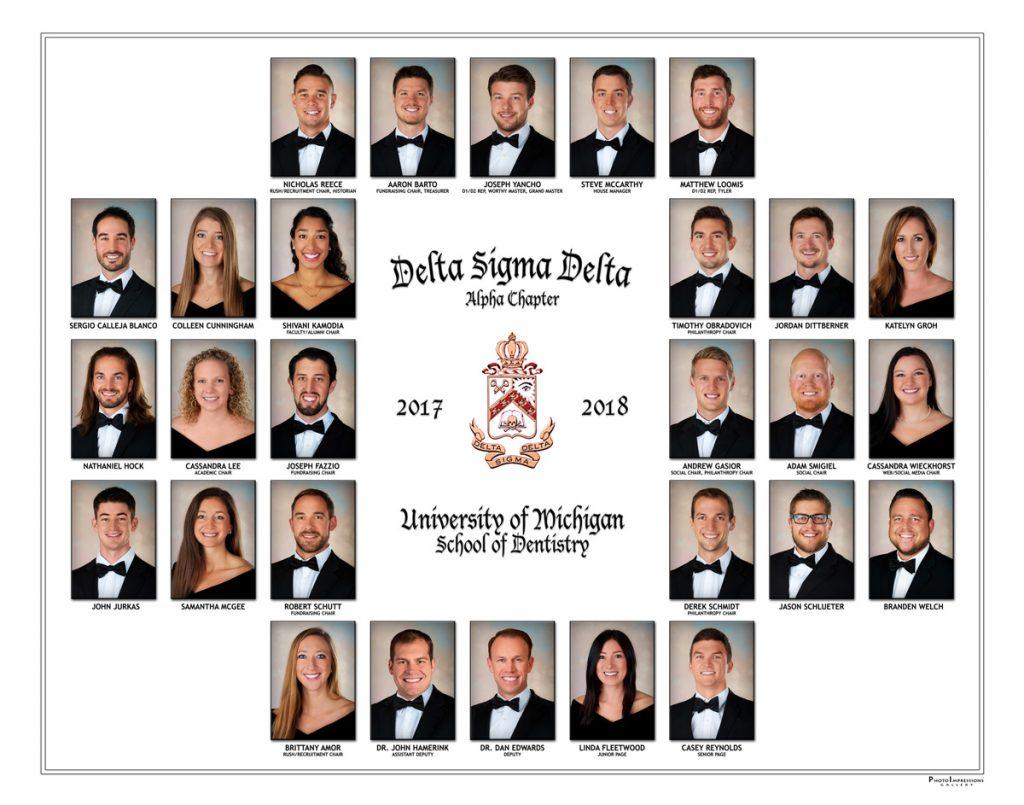 University_of_Michigan_Delta_Sigma_Delta_Fraternity_Composite_Ann_Arbor_MI_ Portrait_Photography