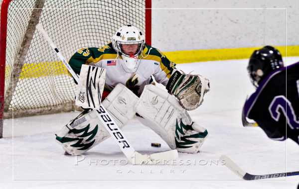 Huron Hockey VS Pioneer, 12-16-15, Ann Arbor Ice Cube, Sport Photography