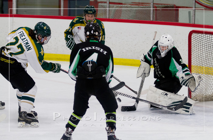 Huron Hockey VS Gabriel Richard, 12-18-15, Ann Arbor Ice Cube, Sport Photography