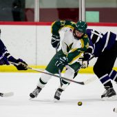 Ann Arbor Huron Hockey VS Pioneer 12-6-17