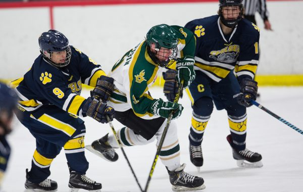 Ann Arbor Huron Hockey VS Chelsea 1-9-18