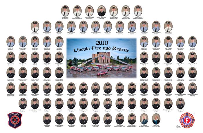 Livonia Fire Dept – Fraternity Composite – Livonia MI