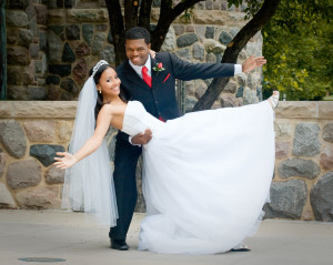 Darrell & Maya Wedding - St Thomas the Apostle Church - Ann Arbor MI
