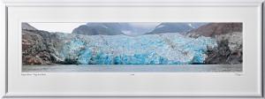 P090720A Sawyer Glacier - Tracy Arm Alaska Panorama - shown as 10x45