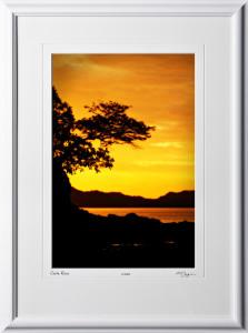 10 S120702 A65 Costa Rica 12x18 Portrait in 18x25 frame
