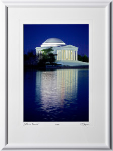 S090403A Jefferson Memorial - Washington DC - shown as 12x18