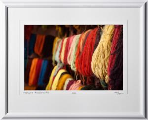 S110515 Alpaca yarn Peru - shown as 12x18