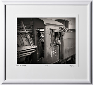 S070712B Train to Silverton Colorado - shown as 11x14