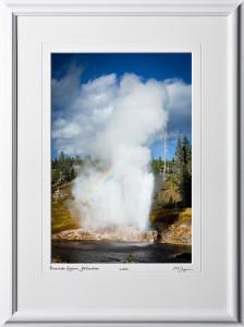 13092338 Riverside Geyser - Yellowstone - shown as 12x18