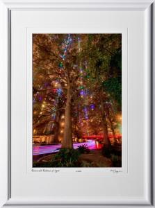 S121206F Riverwalk Ribbons of light - 12x18