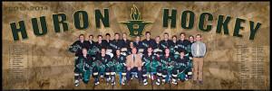 Huron Hockey Banner Poster