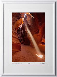 15090207 Antelope Canyon Sun Beam - shown as 12x18