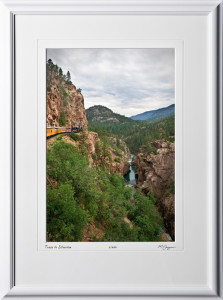 S070712C Train to Silverton Colorado - shown as 12x18