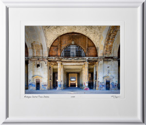 A080901D Michigan Central Train Station - shown as 10x14