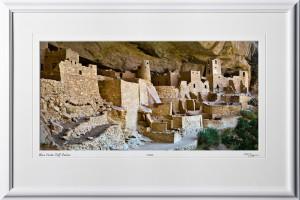 S070714B Mesa Verde Cliff Palace - shown as 12x24