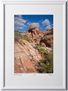 S081004C Red Rock Canyon Nevada - shown as 12x18