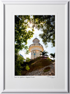 S110506 016 Santa Ana Lighthouse - Guayaquil Ecuador - shown as 12x18