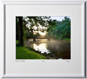 S070701A English Inn Bridge - Michigan - shown as 11x14