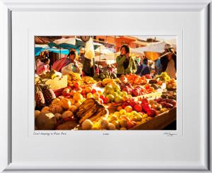 S110515 062 food market in Pisac Peru - shown as 12x18
