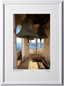 41 greece_fine_art_photo_DalCoast_fine_art_photo_A100912BBellTowerKatharonMonastaryIthakashownas12x18