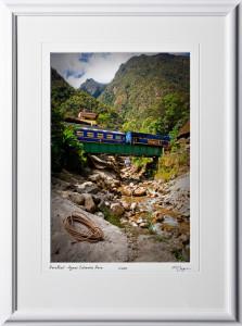 S110518 021 PeruRail - Aguas Calientes Peru - shown as 12x18