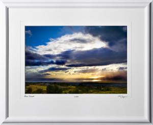 S080406F Maui Sunset - Hawaii - shown as 12x18