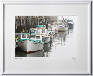 S080824P Portland Wharf - Maine - shown as 12x18