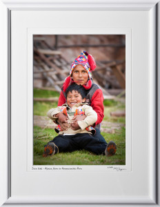 P110515 046 Inca kids - Alpaca farm in Awanacancha Peru - shown as 10x14