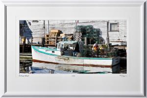 S080824Y Portland Wharf - Maine - shown as 12x24