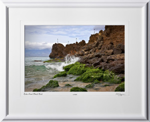 S080411A Kekaa Point Black Rock - Maui Hawaii - shown as 12x18