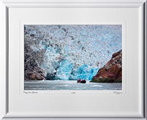 S090720C Sawyer Glacier - Tracy Arm Alaska - shown as 12x18