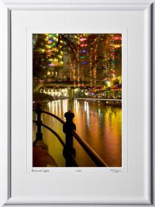 S071207E San Antonio Riverwalk - shown as 12x18