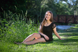 Senior pictures by river in Ann Arbor MI, Michigan Photography