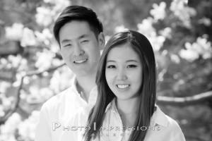 Geunbae Lee and Haeseong Park graduation Ann Arbor portrait studio photography