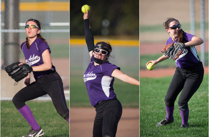 Ann Arbor Pioneer Softball VS Salem MI – 4/18/15