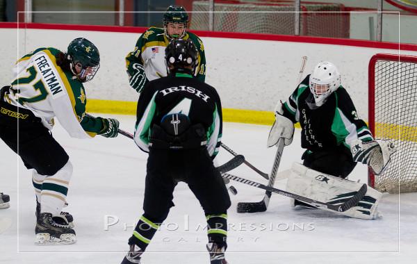 Huron Hockey VS Gabriel Richard, 12-18-15, Ann Arbor Ice Cube, Sport Photography