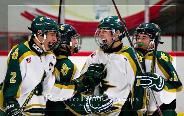 Huron Hockey VS Skyline, 1-20-16, Ann Arbor Ice Cube, Sport Photography
